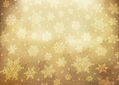 Christmas golden abstract background. Vector illustration, EPS10 — Stock Vector