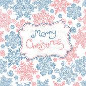 Merry Christmas card. Vector, EPS10 — Stock Vector