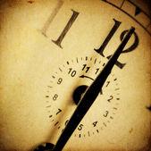 Vintage clock background — Stock Photo