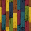 Colorful wooden background. Vector, EPS10 — Stock Vector