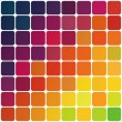 Abstract colorful rounded squares background. Vector, EPS10 - Image vectorielle