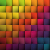 Abstract squares background. Vector, EPS10 — Stock Vector