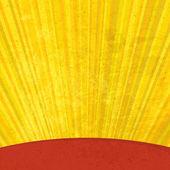 Grunge sunrays aged background. Vector, EPS10 — Stock Vector