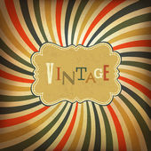 Grunge vintage background. Vector, EPS10 — Stock Vector