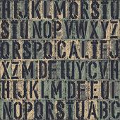 Letterpress seamless background. Vector, EPS8 — Stock Vector