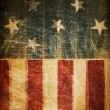 Stock Photo: Abstract american patriotic background (based on flag theme)