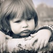 Royalty-Free Stock Photo: Distraught little girl