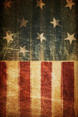 Abstract american patriotic background (based on flag theme) — Stockfoto