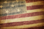 Vintage american flag grunge background — Stock Photo