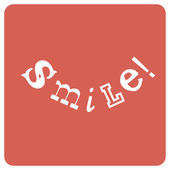 Smile! Positive emotions concept, vector — Stock Vector