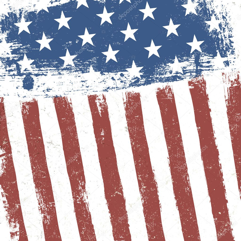 american flag vintage vector - photo #8
