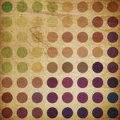 Retro colorful circles background — Stock Photo