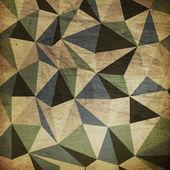 Sfondo di triangoli retrò — Foto Stock