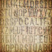 Knihtisk vinobraní grunge pozadí — Stock fotografie