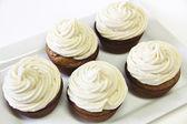 Banana Maple Cupcakes — Stock Photo
