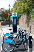 London Cycle Hire — Stock Photo