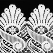 Royalty-Free Stock Photo: Lace Border