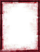 Red Grunge Frame — Stock Photo