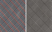 Classic Plaids Textile Swatches — Stock Photo