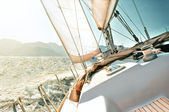 Yacht sailing — Stock Photo