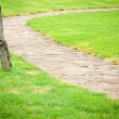 Stock Photo: Beautiful garden path