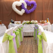 Wedding chairs — Foto Stock #12728522