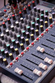 Music control panel — Stockfoto