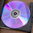 Dvd disk — Stock Photo #14573779