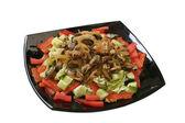 Salade aux moules, poivron et concombre — Photo