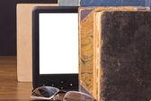 Electronic book — Stock Photo