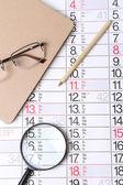 Fondo calendario — Foto de Stock
