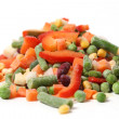 Frozen vegetables — Foto de stock #38844405