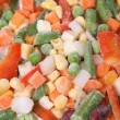Stockfoto: Frozen vegetables