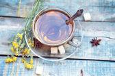 Filiżanka herbaty — Zdjęcie stockowe