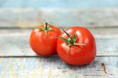 świeże pomidory — Zdjęcie stockowe