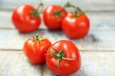 Frische tomaten — Stockfoto