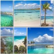 Beautiful pictures of the islands - Stock Photo