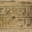 Egyptian hieroglyph — Stock Photo