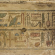 Egyptian hieroglyph — Stock Photo #17469269