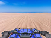Quad bike — Stock Photo