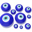 Royalty-Free Stock Photo: Evil eye amulet on a white background