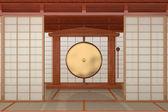 Japanese room — Stock Photo