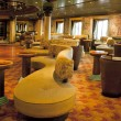 Bar interiors on cruise the ship — Stock Photo #19616179