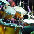 Drum кit on the stage — Stock Photo #37309263