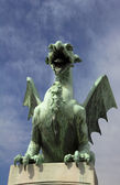 Dragon guard — Stock Photo