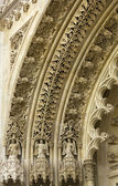 Detail. The Old cathedral in Zagreb Croatia — Stock Photo