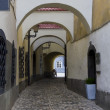 Narrow street in Ljubljana — Stock Photo #38332743