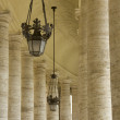 Stock Photo: PiazzSPietro Columns
