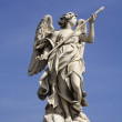 Stock Photo: Marble angel statue, Sant'Angelo castle, Rome