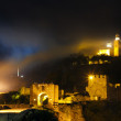 Stock Photo: Tsarevets Hill by night , Veliko Tarnovo, Bulgaria.